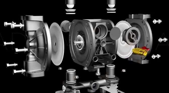 Animation of G15 Aluminum Pump